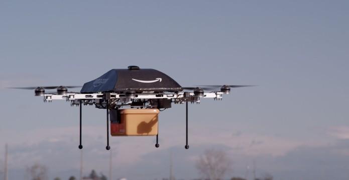 Exemplo de drone para uso comercial (Foto: Divulgação/Amazon)