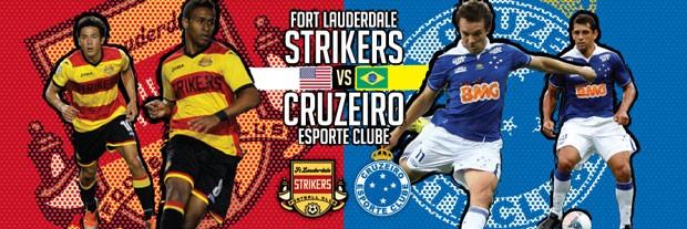 cartaz jogo Strikers Cruzeiro  (Foto: Reprodução / Site oficial do Strikers)