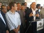 Alckmin volta a criticar invasões e nega cortes de vagas em Etecs
