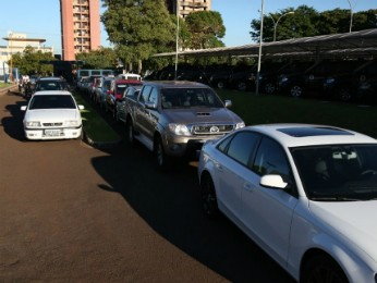 Polícia Federal apreendeu vários veículos usados pelo grupo (Foto: PF / Divulgação)