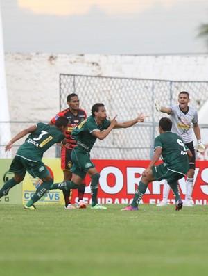 Icasa x Guarani de Juazeiro Campeonato Cearense Romeirão comemoração (Foto: Normando Soracles/Agência Miséria)