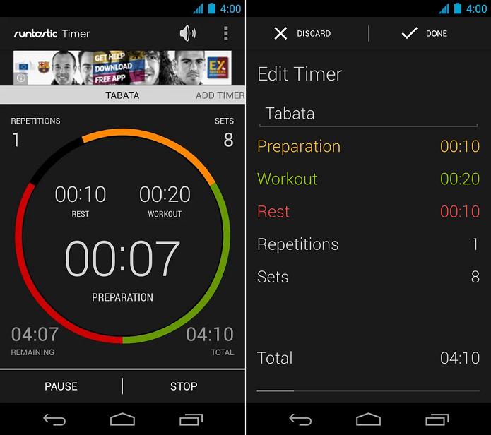 Runtastic Me é um app que personaliza exercícios do usuário no dia a dia (Foto: Divulgação)