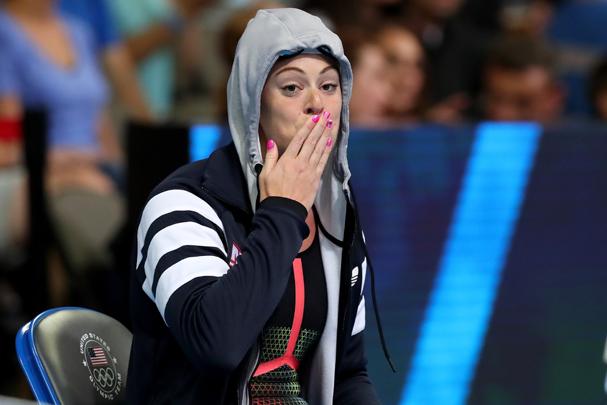 Allison Schmitt, da equipe americana de natação (Foto: Tom Pennington / Getty Images)