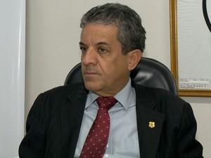 Delegado Danilo Bahiense falou sobre operação realizada em 73 municípios do estado, (Foto: Reprodução / TV Gazeta)