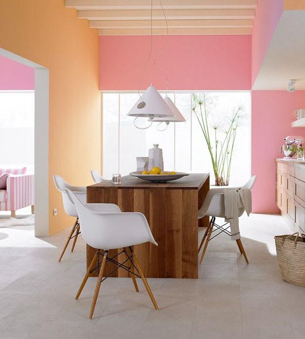 Décor do dia: sala de jantar colorido com estilo escandinavo (Foto: Reprodução)
