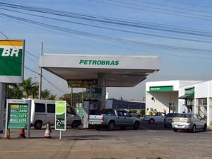Posto de combustível foi assaltado duas vezes no mesmo dia em Piracicaba (Foto: Fernanda Zanetti/G1)