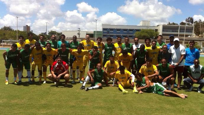 """Projeto """"Mantendo a forma"""" - jogadores - Rio Grande do Norte (Foto: Andrey Valério/Arquivo Pessoal)"""