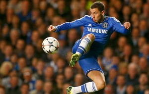 Hazard Chelsea x Galatasaray  (Foto: Reuters)