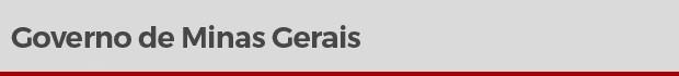 Governo de Minas Gerais (Foto: Arte/G1)
