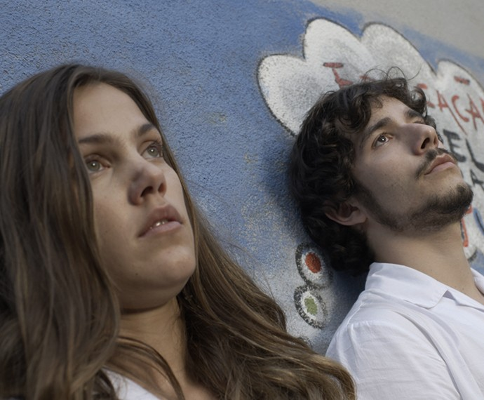 Luan e Alina reagiram de formas diferentes após o acidente (Foto: TV Globo)