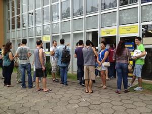 Segundo a Coperve, 61 candidatos optaram fazer o vestibular em Libras (Foto: Janara Nicoletti/G1 SC)
