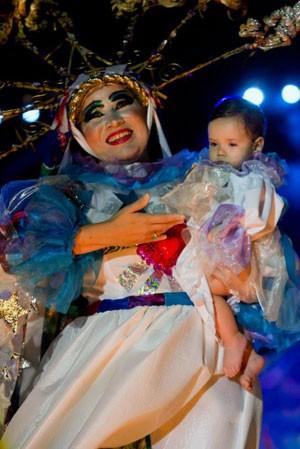 Nascimento do Menino Jesus é a temática principal do espetáculo (Foto: Alexandre Rocha/Divulgação)