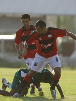 Jogadores do Sport Belém, o 'Dragão da Maracangalha', em 2008 (Foto: Marcelo Seabra/O Liberal)