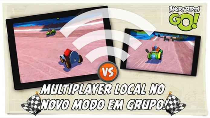 Junte os amigos e disputa corridas neste divertido game para iPhone e iPad (Foto: Divulgação)