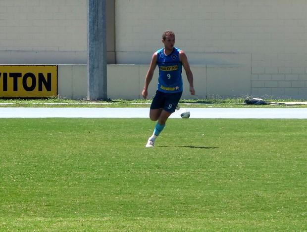 marcelo mattos botafogo treino (Foto: Raphael Marinho / Globoesporte.com)