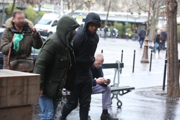 Suspeito do assalto a Kim Kardashian (Foto: The Grosby Group Paris)