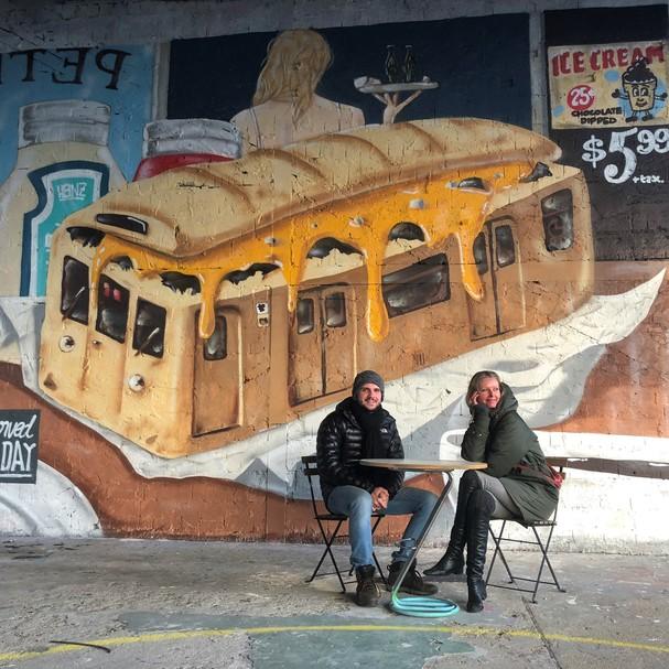Dani  e Vini em Berlim (Foto: Divulgação)