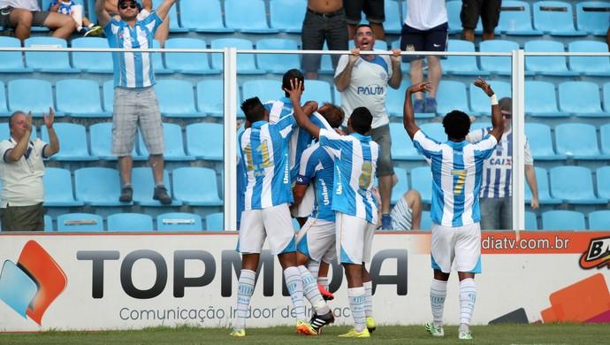 Pablo Avaí x Atlético-IB (Foto: Jamira Furlani/Avaí FC)
