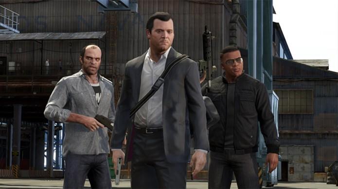 GTA 5 introduziu três protagonistas com histórias interessantes e uma cidade gigantesca (Foto: Reprodução/Polygon)