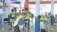 Voluntários se unem para melhorar creche no Maranhão