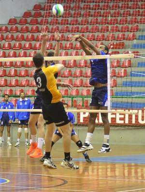 São José x São Bernardo Vôlei Jogos Abertos (Foto: São José Vôlei/ Divulgação)