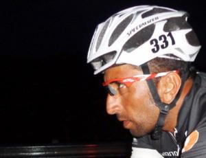 Cláudio Clarindo ultramaratona ciclismo santos (Foto: Divulgação)
