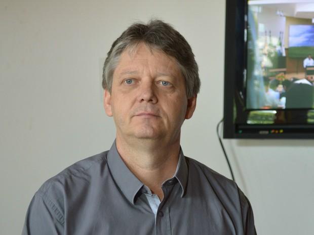 Secretário de Meio Ambiente e Desenvolvimento Econômico, Jaime Verruck (Foto: Anderson Viegas/G1 MS)