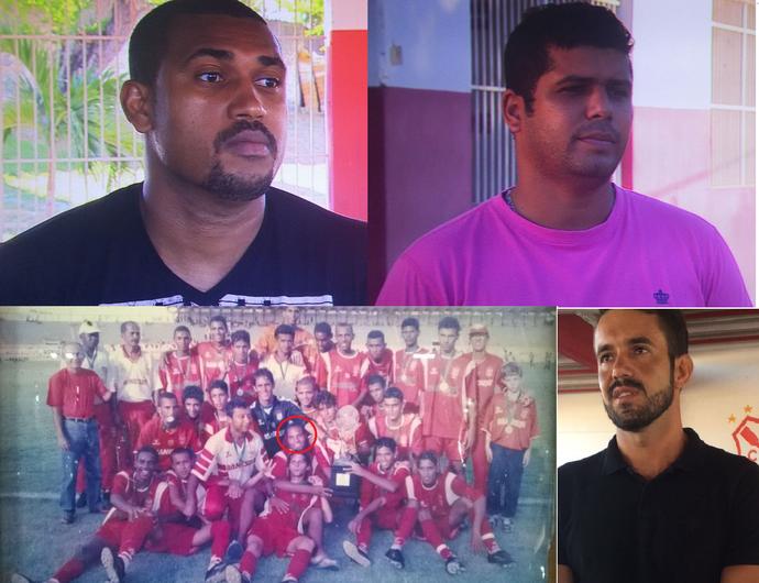 ex-colegas de Thiego (Foto: Reprodução/TV Sergipe)