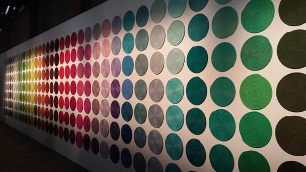 Os tecidos de corda desenvolvidos pela marca podem ser usados dentro ou fora de casa e estão disponíveis em mais de 100 opções de cores (Foto: Stephanie Durante)