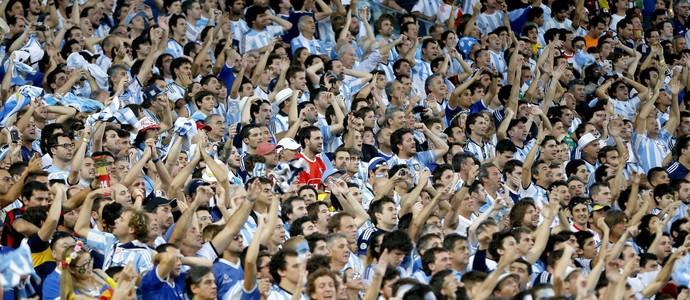 Torcida Argentina Alemanha (Foto: Getty Images)