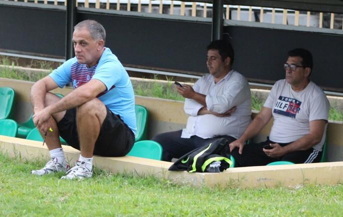 Celso Teixeira, treinador do Flamengo-PI (Foto: Joana D'arc Cardoso)