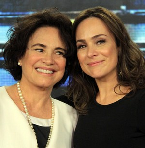 Gabriela Duarte comenta comparação com a mãe (Marcos Mazini/Gshow)