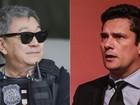 'Japonês da Federal' e Sérgio Moro viram bonecos gigantes em Olinda