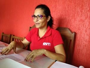 Acre Rosana Nascimento CUT (Foto: Caio Fulgêncio/G1)