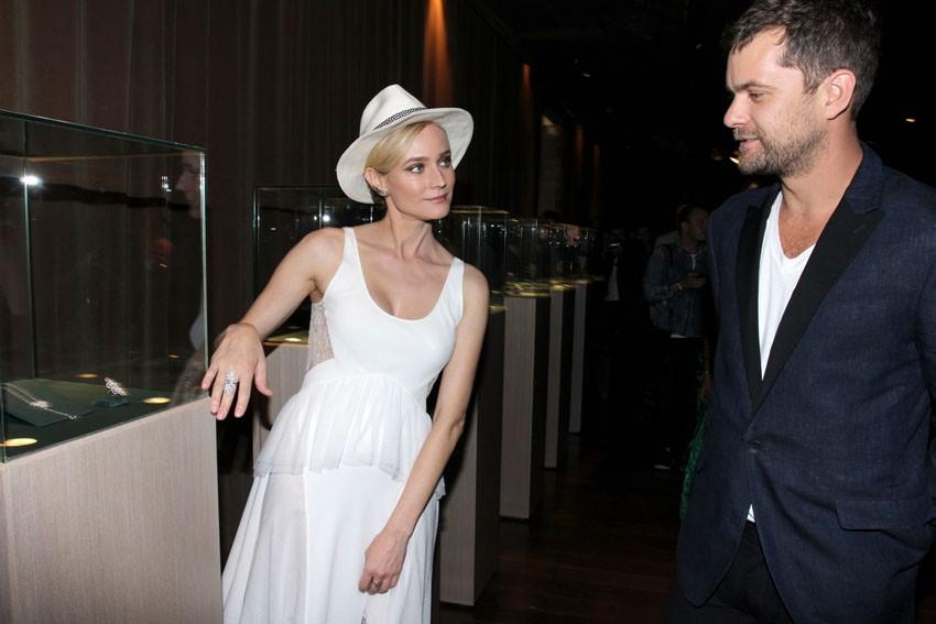Diane Kruger e Joshua Jackson (Foto: Vera Donato/Divulgação)