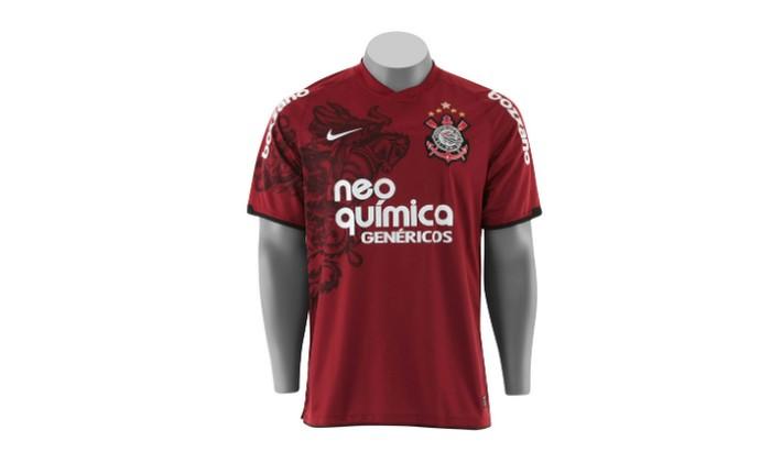 Camisa Corinthians grená (Foto: Divulgação)