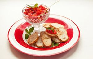 Rita Lobo ensina a fazer bruschetta de tomate
