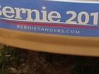 Motorista se recusa a rebocar carro de apoiadora de Sanders nos EUA