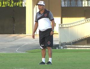 Ramiro Sousa, técnico do Botafogo-PB (Foto: Reprodução / TV Cabo Branco)