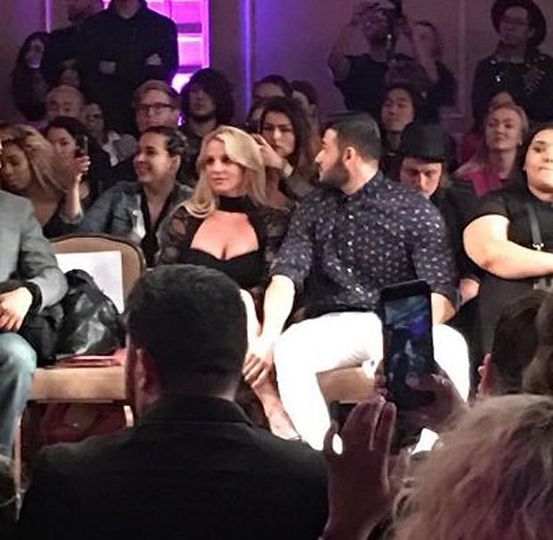 Britney Spears e Sam (Foto: Instagram / Reprodução)