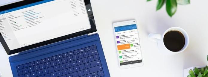 Acompanhe as atualizações dos serviços de e-mail (Divulgação/Outlook)