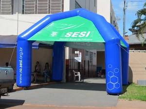 Cursos são oferecidos pelo Sesi e Senai em Cacoal (Foto: Magda Oliveira/G1)
