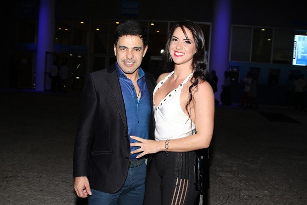 Zezé Di Camargo e Graciele Lacerda (Foto: Thiago Duran/AgNews)