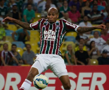 Wellington Silva - Fluminense x Palmeiras (Foto: Bruno Haddad / Fluminense FC)