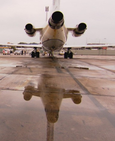 Avião  (Foto: Rede Globo)