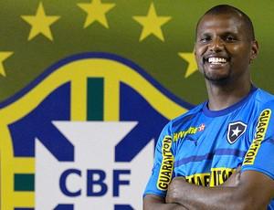 Jefferson treino Botafogo (Foto: Fernando Soutello / Agif)