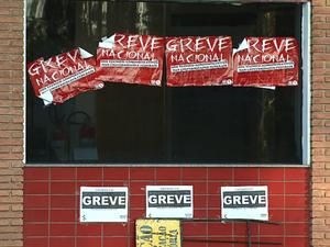 Servidores estão em greve na UFSCar em São Carlos e Araras (Foto: Marlon Tavoni/EPTV)