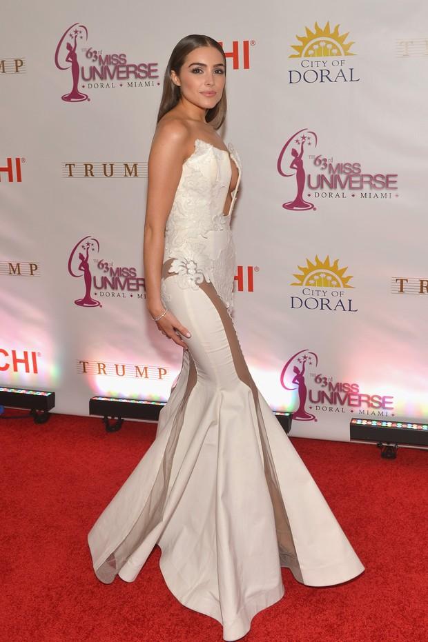 A américa Olivia Culpo foi Miss Universo 2012  (Foto: AFP)