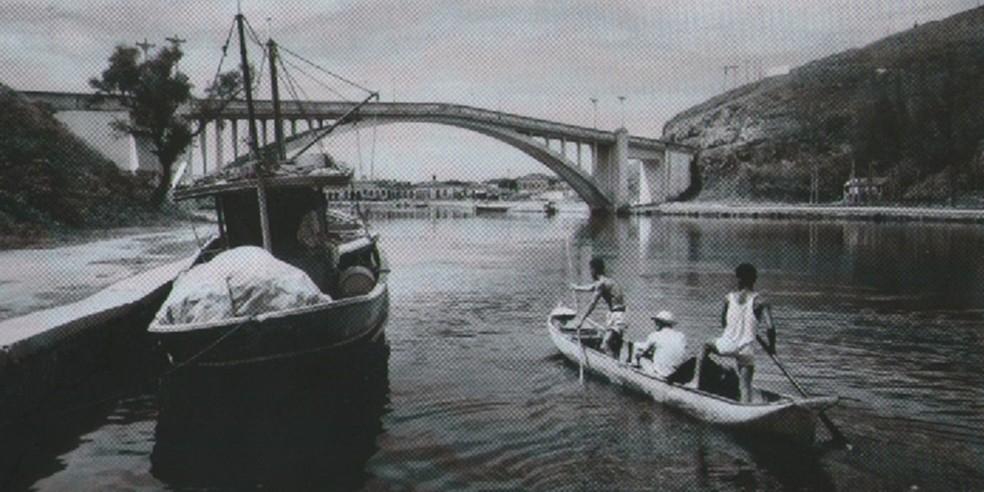 Ponte Feliciano Sodré foi inaugurada em 1926 em Cabo Frio, no RJ (Foto: Divulgação/Prefeitura Cabo Frio)