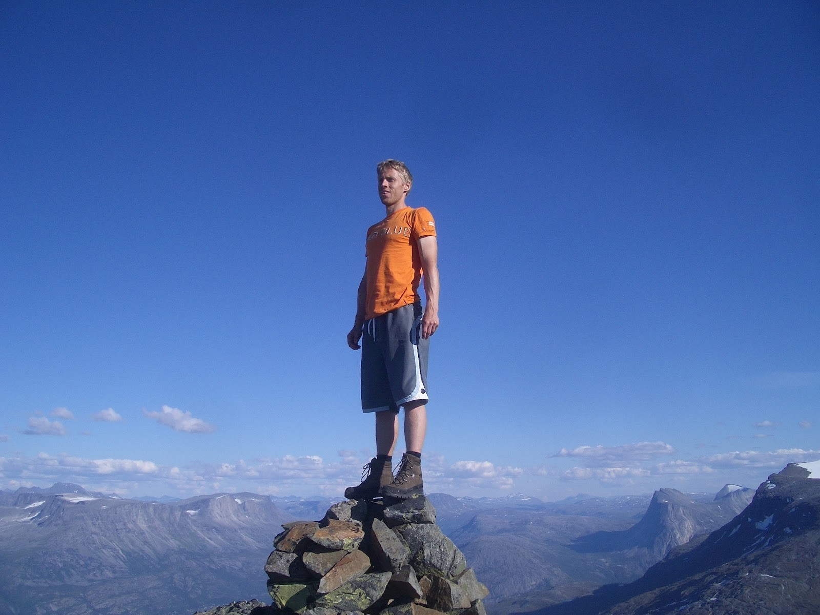 Gunnar Garfors na Noruega (Foto: Divulgação)